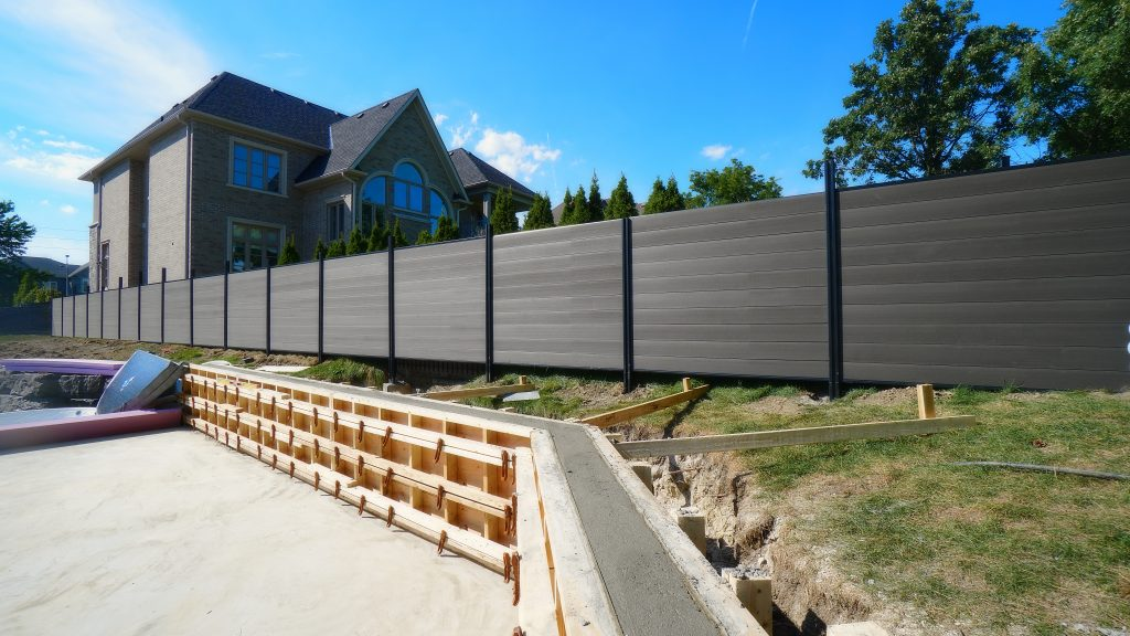 Composite Fence Aluminum Posts Oakville